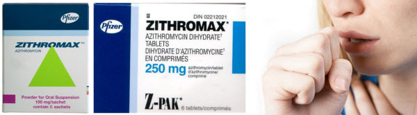 Zithromax (Azithromycin, Z-Pak) for bronchitis