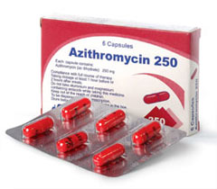 Treatment with Azithromycin